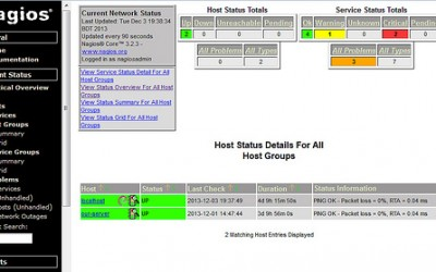 Nagios: Automatic init.d service recovery