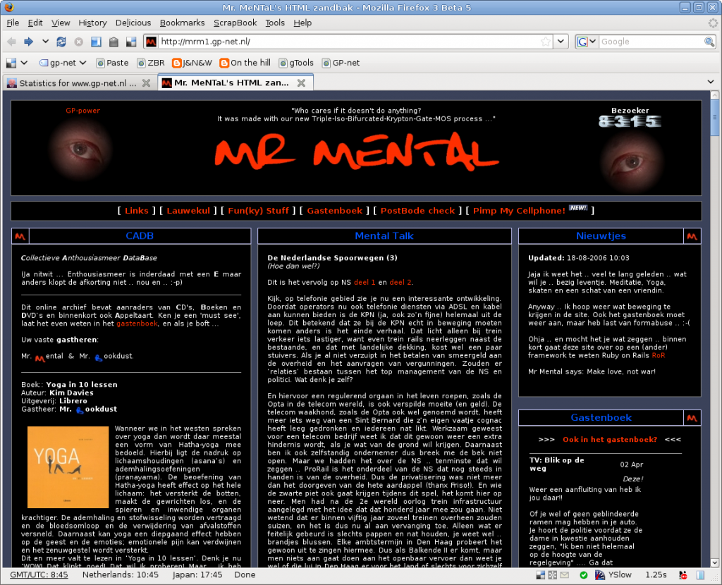 Screenshot mr-mental.com